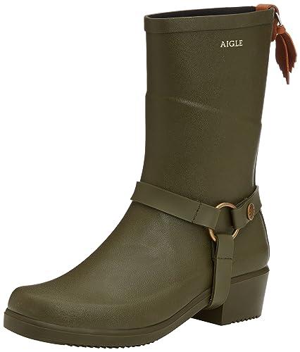 Aigle Miss Julie Damengummistiefel Schwarz-Schuhgröße 36 Schuhgröße 36 Schwarz hp2Bmp