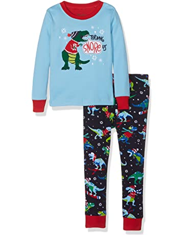 1f80379fd799 Hatley Boy s Long Sleeve Appliqué Pyjama Set