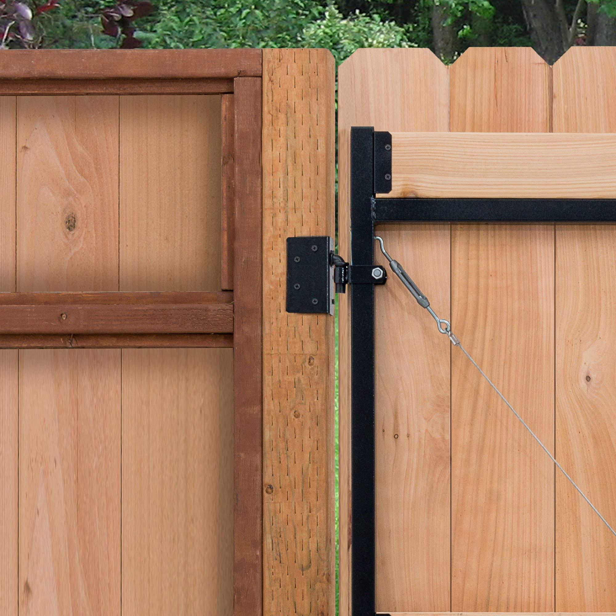 Adjust-A-Gate Steel Frame Gate Building Kit, 60''-96'' Wide, 6' High (2 Pack) by Adjust-A-Gate (Image #6)