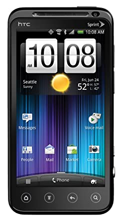 htc evo 3d 4g android phone black sprint amazon ca cell phones rh amazon ca Eagles Case for HTC EVO 3D HTC EVO 3D Cases