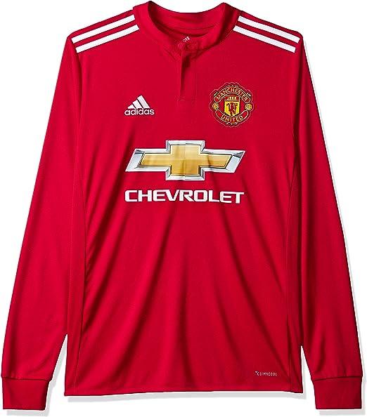 adidas MUFC H JSY Yl Camiseta 1ª Equipación Manchester United 2017 ...