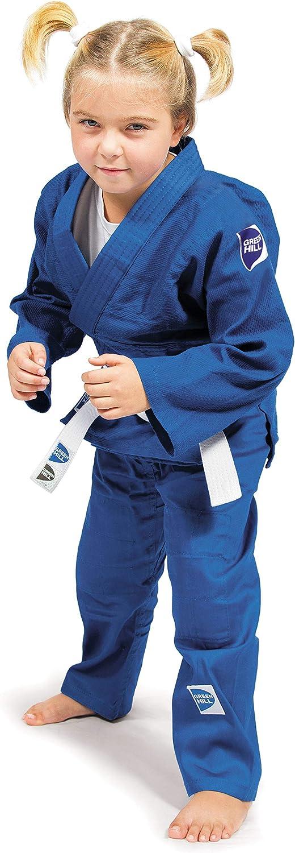 GREEN HILL Jsj-10227 Judogi Unisex para ni/ños