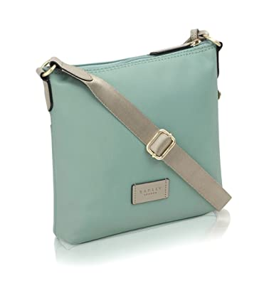 aa16903007 Radley New Pocket Essentials Small Zip Top Cross Body Bag In Eucalyptus  Green