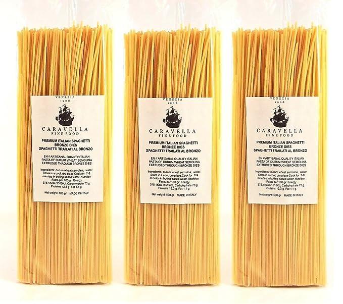Caravella Premium Espaguetis Artesanal