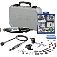 Dremel 4000-2/30 120-Volt Variable Speed Rotary Tool Kit + Accessory Kit + Shaft Attachment