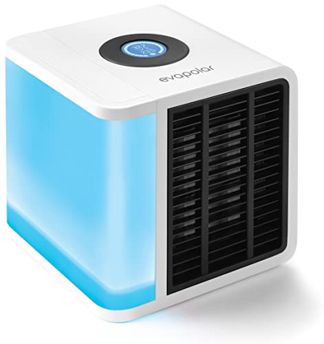 Evapolar Personal Evaporative Air Cooler and Humidifier/Portable Air Conditioner, White