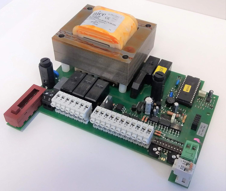 NICE 129-A.8001 Tarjeta electrónica para central de control A100F: Amazon.es: Bricolaje y herramientas