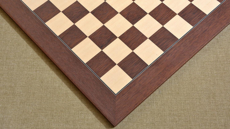 Chessbazaar Holz Montgoy Palisander Ahorn Deluxe Schachbrett 22