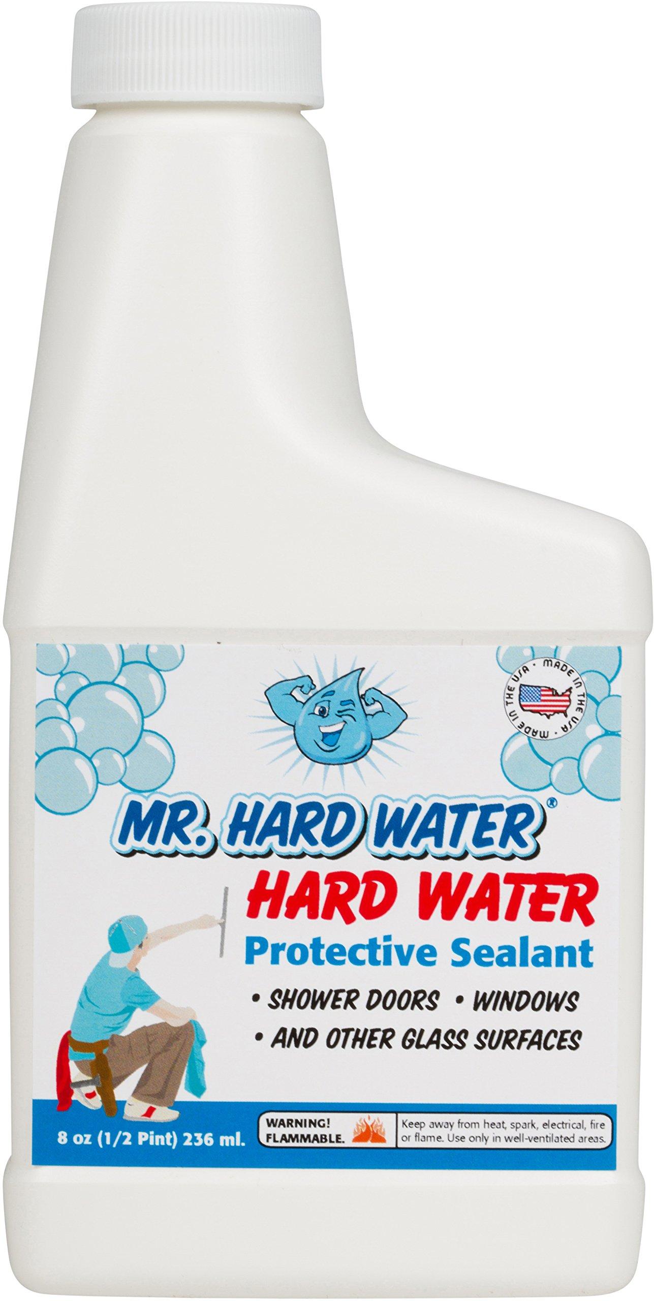 Mr. Hard Water Shower Door Sealer, 8-Ounce by Mr. Hard Water