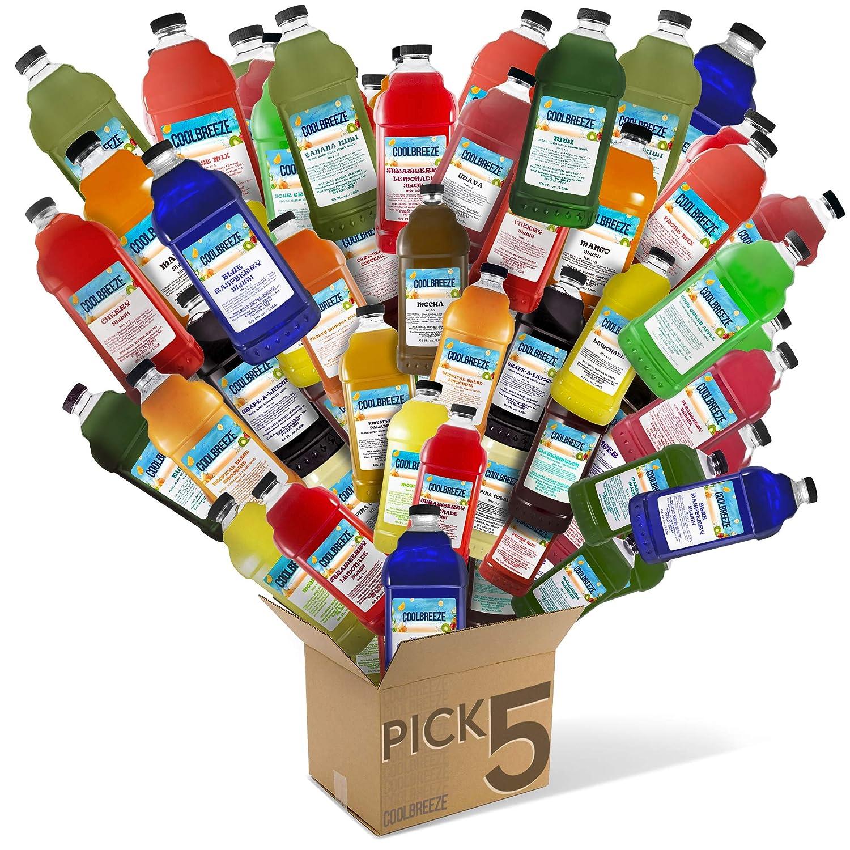 Fruit-N-Ice Blender Mix Passion Fruit  3:1 Bottle