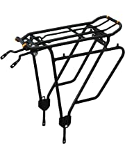 Ibera PakRak Plus+ IB-RA4 Transportador para bicicleta montado en un marco, para cargas pesadas y cargas laterales