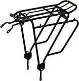 Ibera PakRak Bicycle Touring Carrier Plus+ Carrier Rack IB-RA4 (for Non-Disc Brake Mounts) Frame-Mounted for Heavier Top…