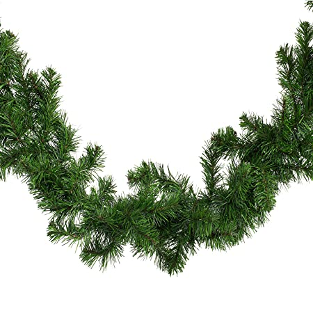 HEITMANN DECO künstliche Tannen Girlande - Lange grüne Dekogirlande, ca. 270 cm - Weihnachtsgirlande