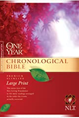 The One Year Chronological Bible NLT, Premium Slimline Large Print (Softcover) Paperback