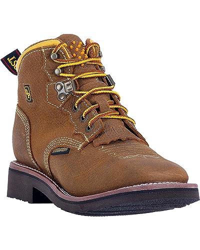 Dan Post Women's Mesa Waterproof Work Boot Soft Square Toe - Dp59442