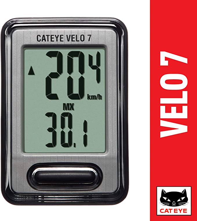 Best bike computer: CAT EYE - Velo 7 Bike Computer