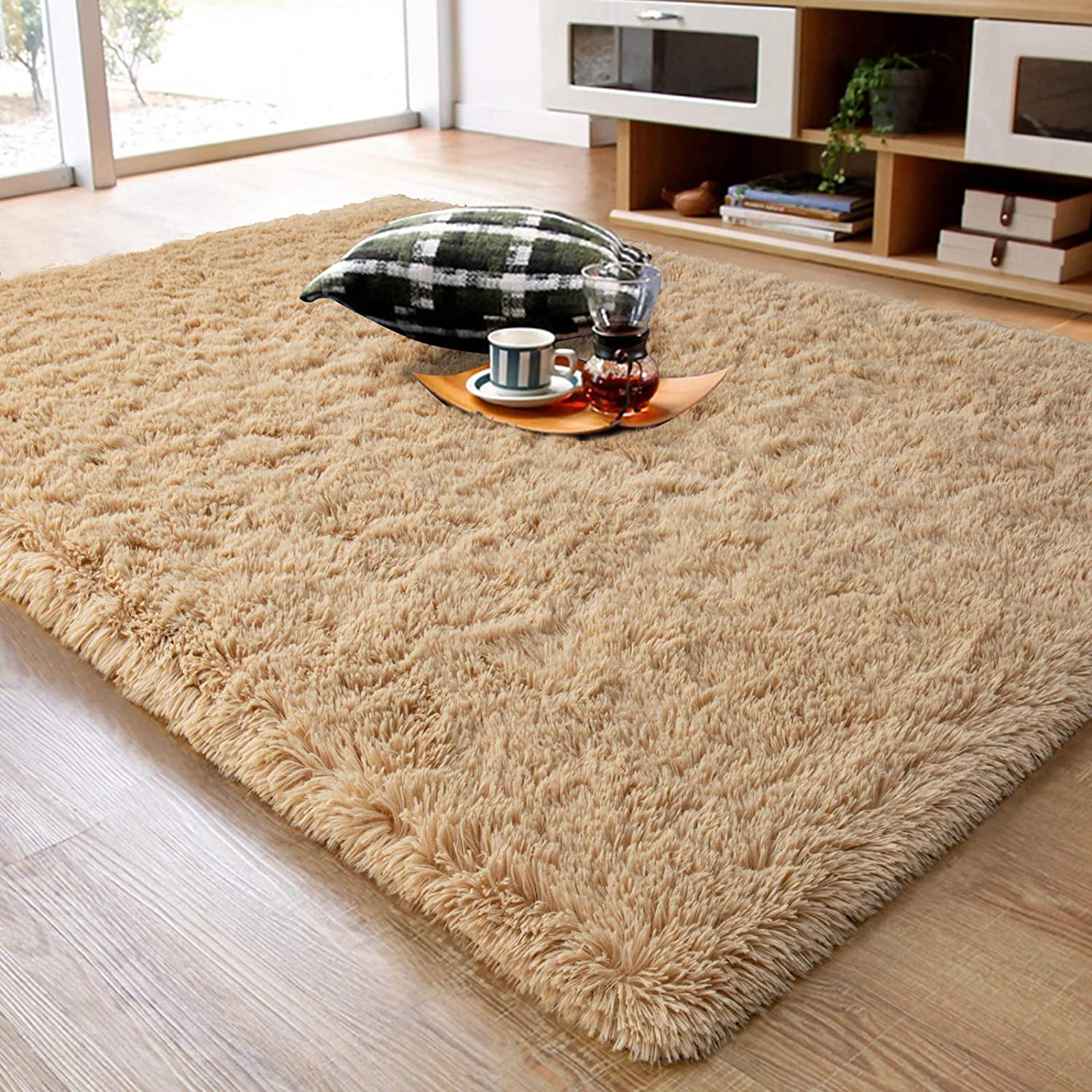 Ompaa Fluffy Luxury Rug Choice Super Soft Fuzzy Bedroom Area for Rugs Living