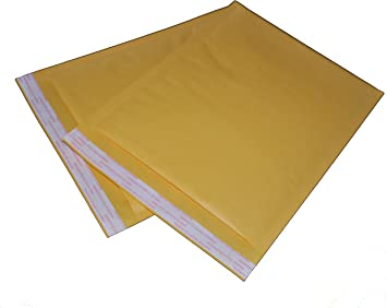 #3 Kraft Bubble Mailers 8.5 x 14.5 Padded Envelopes Self Seal Bags 200 Pieces