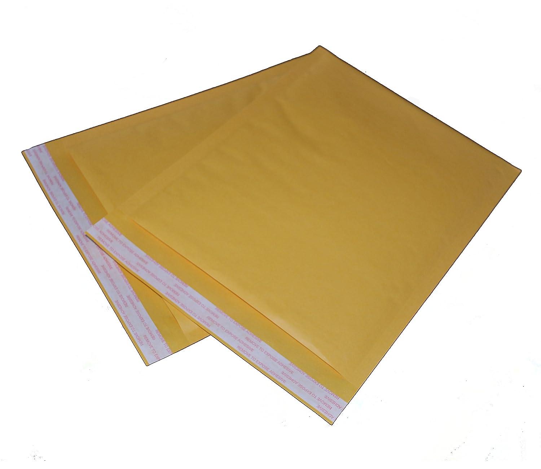 Kraft Bubble Mailers #000 4x8 Padded Envelopes Case of 500
