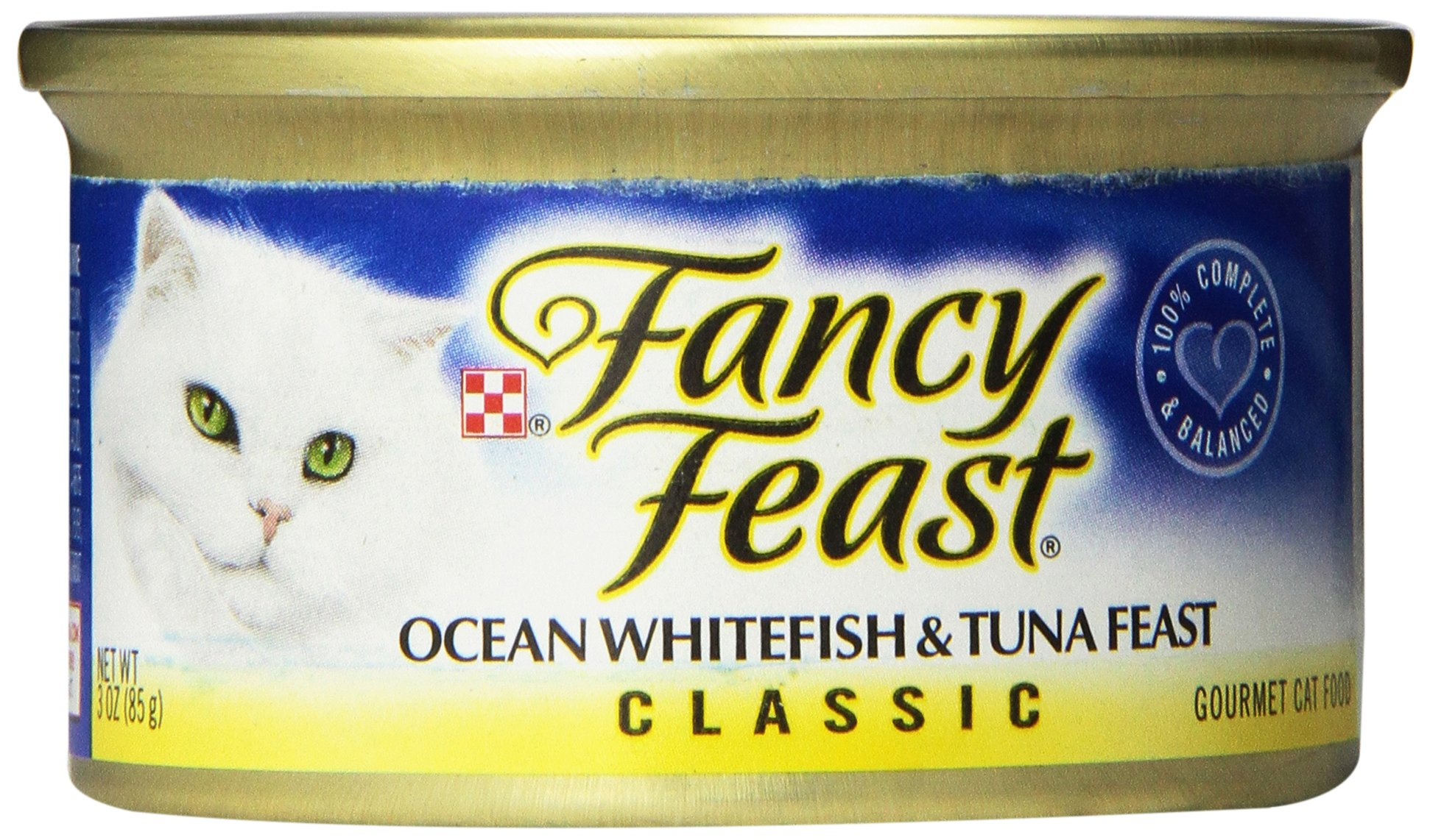 Purina Fancy Feast Classic Gourmet Wet Cat Food - (24) 3 oz Cans
