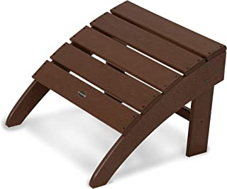 product image for POLYWOOD SBO22MA South Beach Adirondack Ottoman, Mahogany