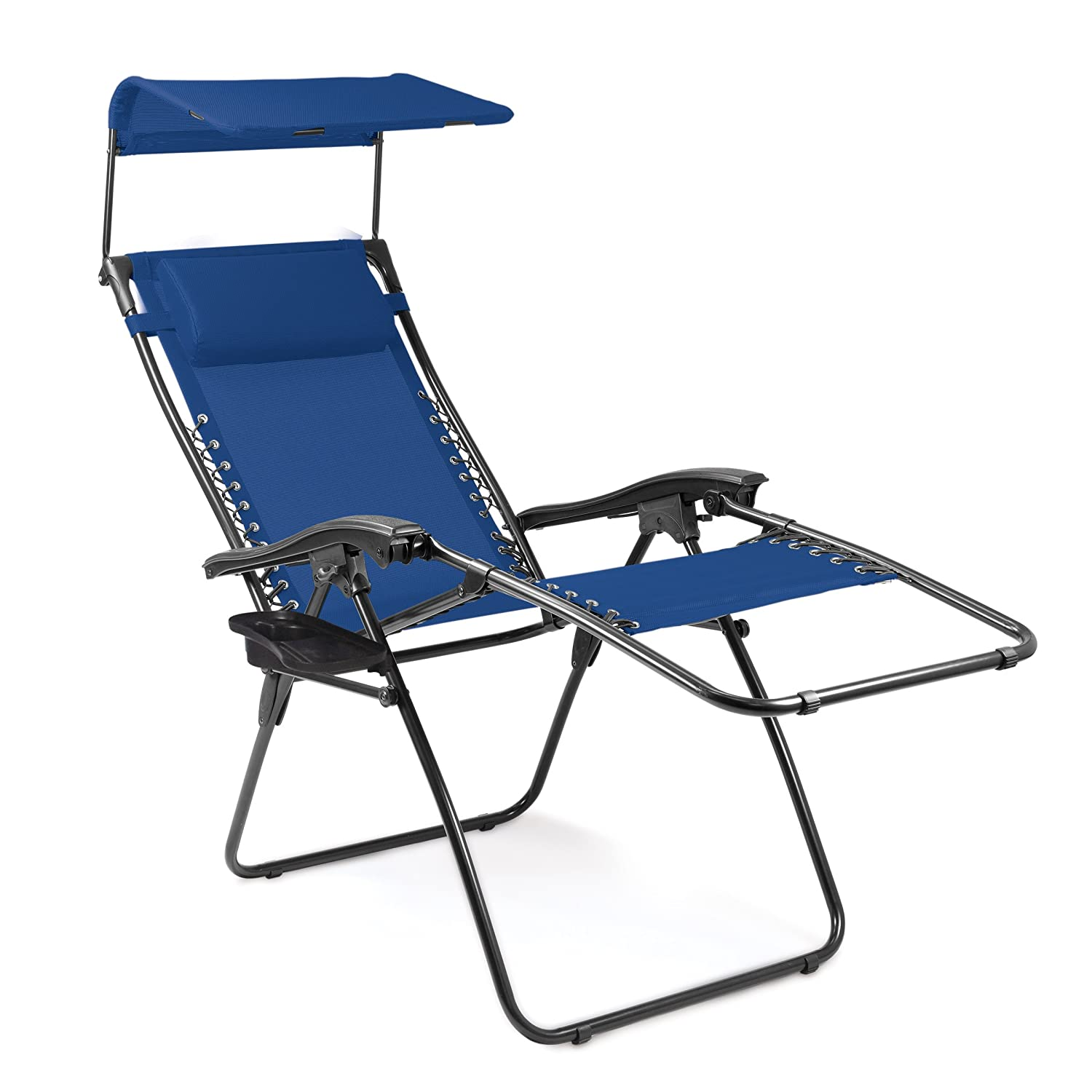 Amazon.com  Picnic Time Portable Serenity Reclining Lounge Chair Navy  C&ing Chairs  Sports u0026 Outdoors  sc 1 st  Amazon.com : reclining lounge chairs - islam-shia.org