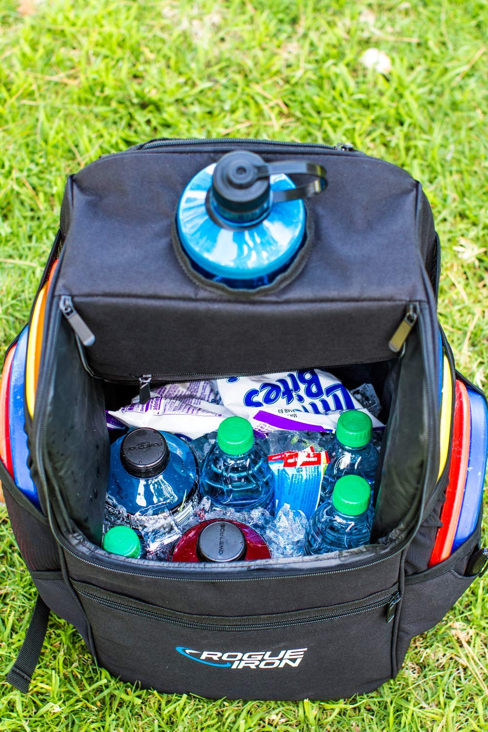 Rogue Iron Disk Golf Backpack & Cooler (Black) by Rogue Iron Sports (Image #7)