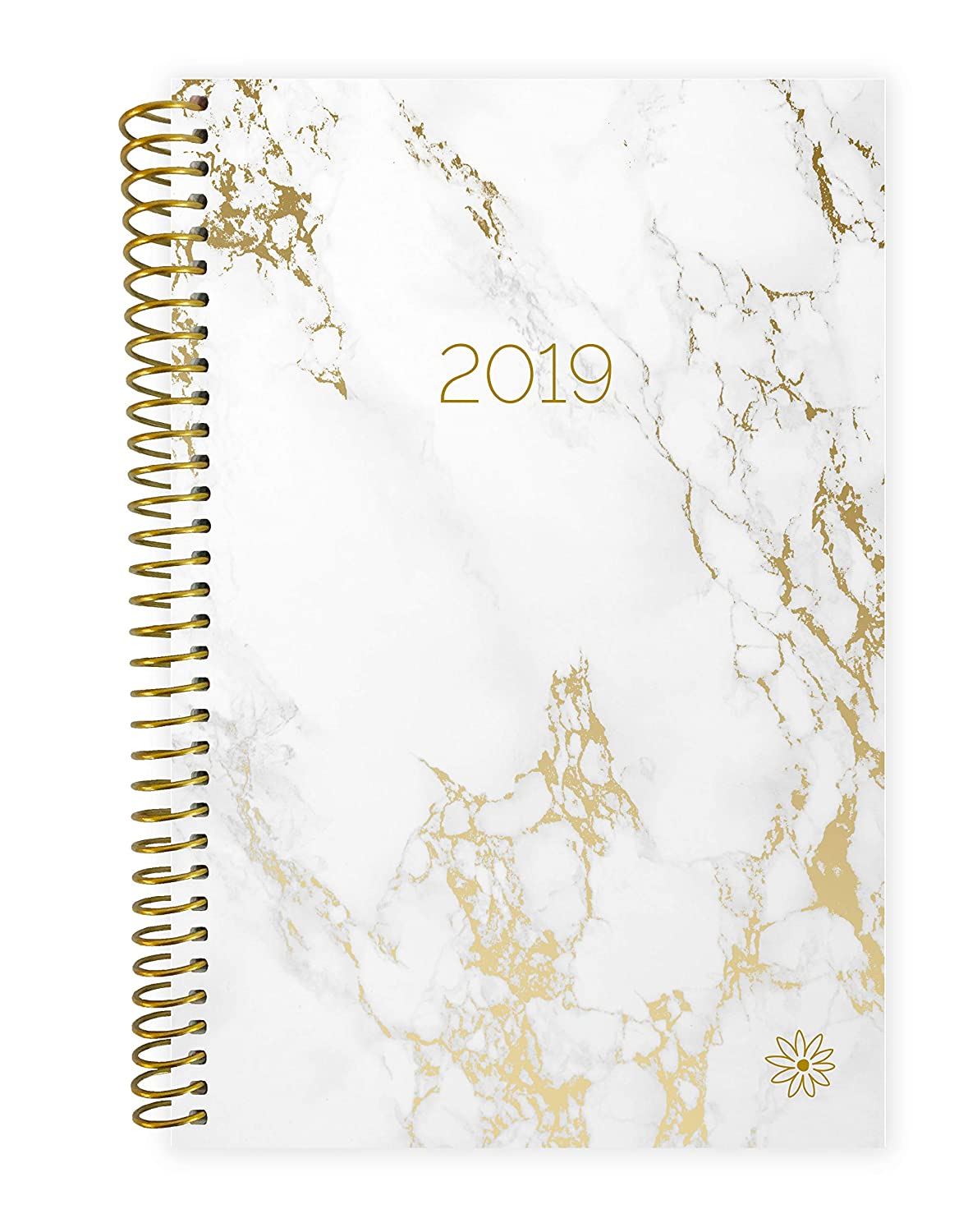 picture relating to Day Organizer titled bloom everyday planners 2019 Calendar Yr Working day Planner - Pion/Objective Organizer - Regular monthly and Weekly Dated Schedule E-book - (January 2019 - December 2019) -