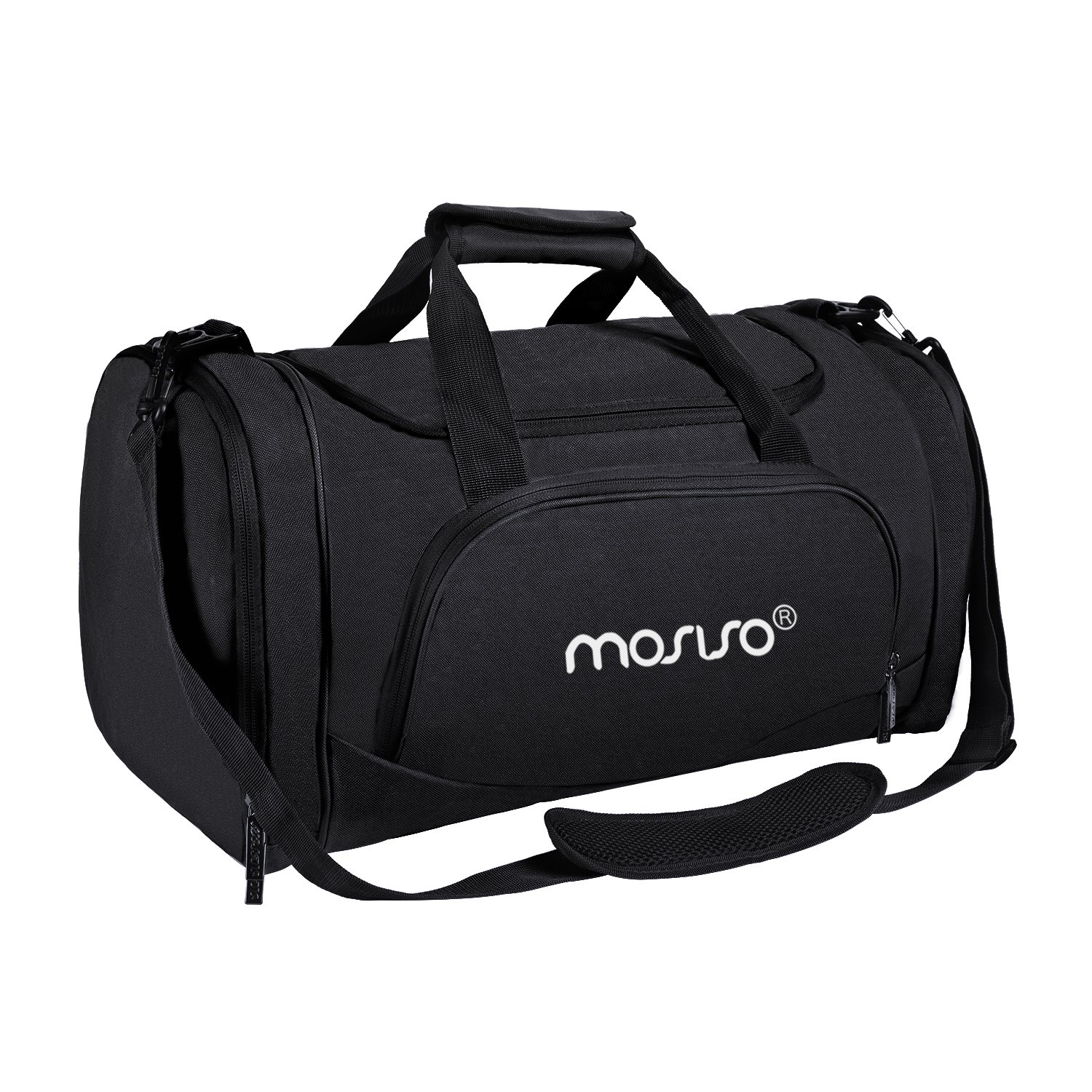 Amazon.com  MOSISO Water Resistant Gym Sports Dance Travel Weekender Duffel  Bag with Shoe Compartment edde27822b29e