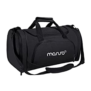 MOSISO Water Resistant Gym Duffel Bag