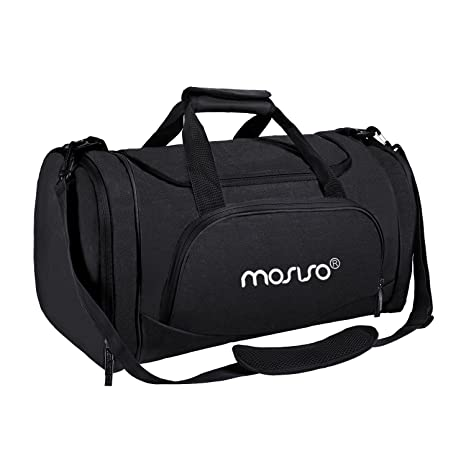 MOSISO Water Resistant Gym Sports Dance Travel Weekender Duffel Bag with  Shoe Compartment 42dc52d282f97