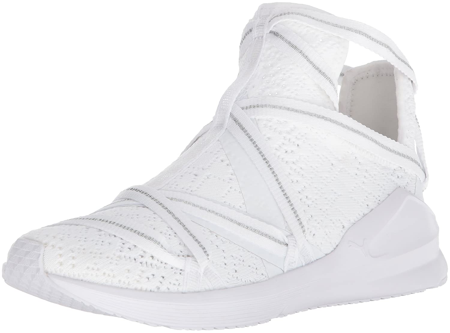 PUMA Women's Fierce Rope En Pointe Wn Sneaker B071K695HH 10 B(M) US|Puma White-puma White
