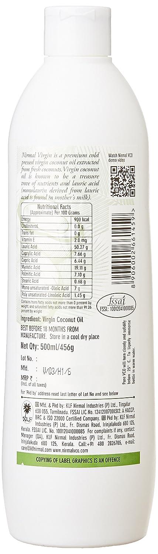 KLF Nirmal Virgin Coconut Oil Bottle