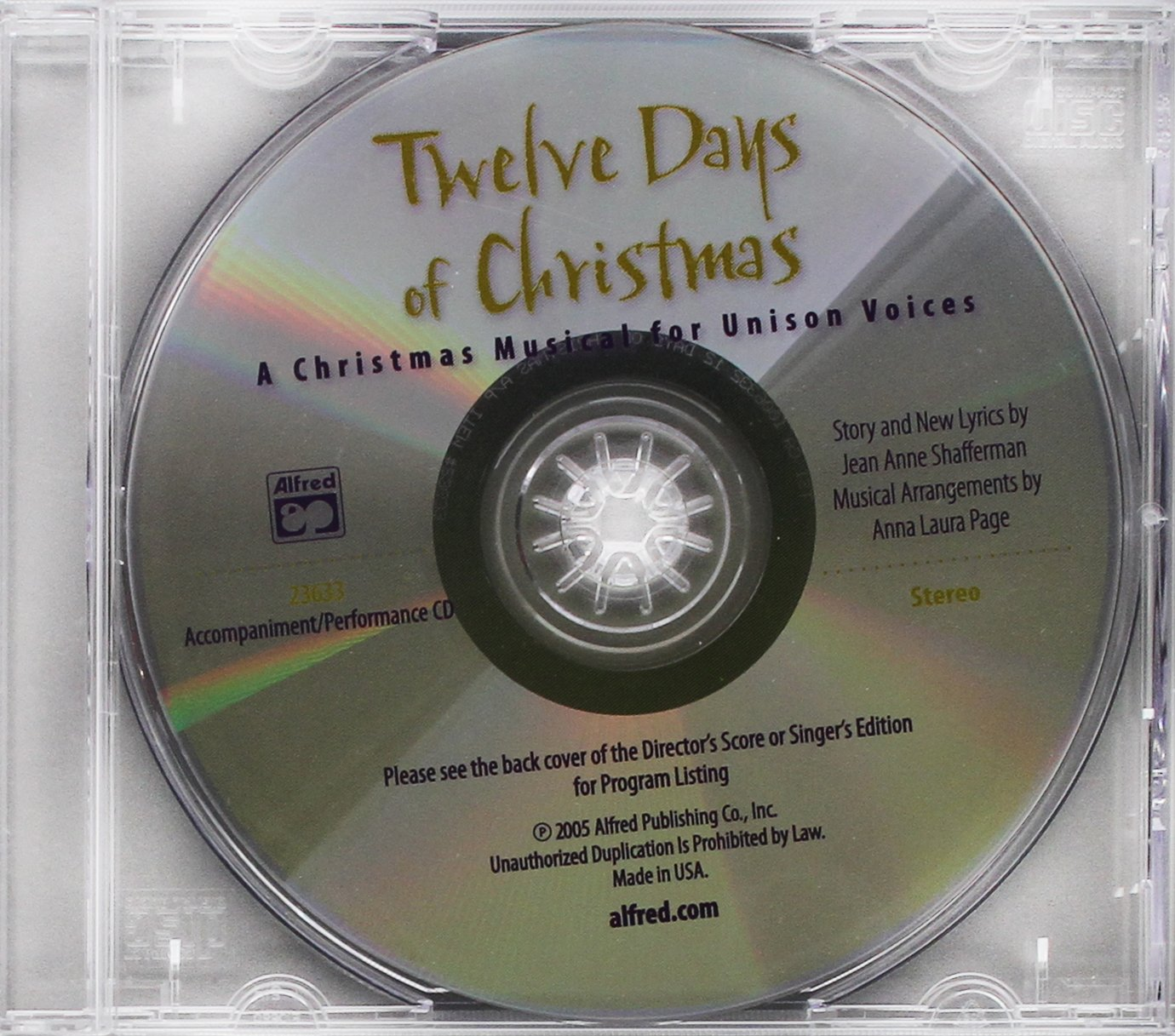 Twelve Days of Christmas (A Christmas Musical for Unison Voices) PDF Text fb2 book