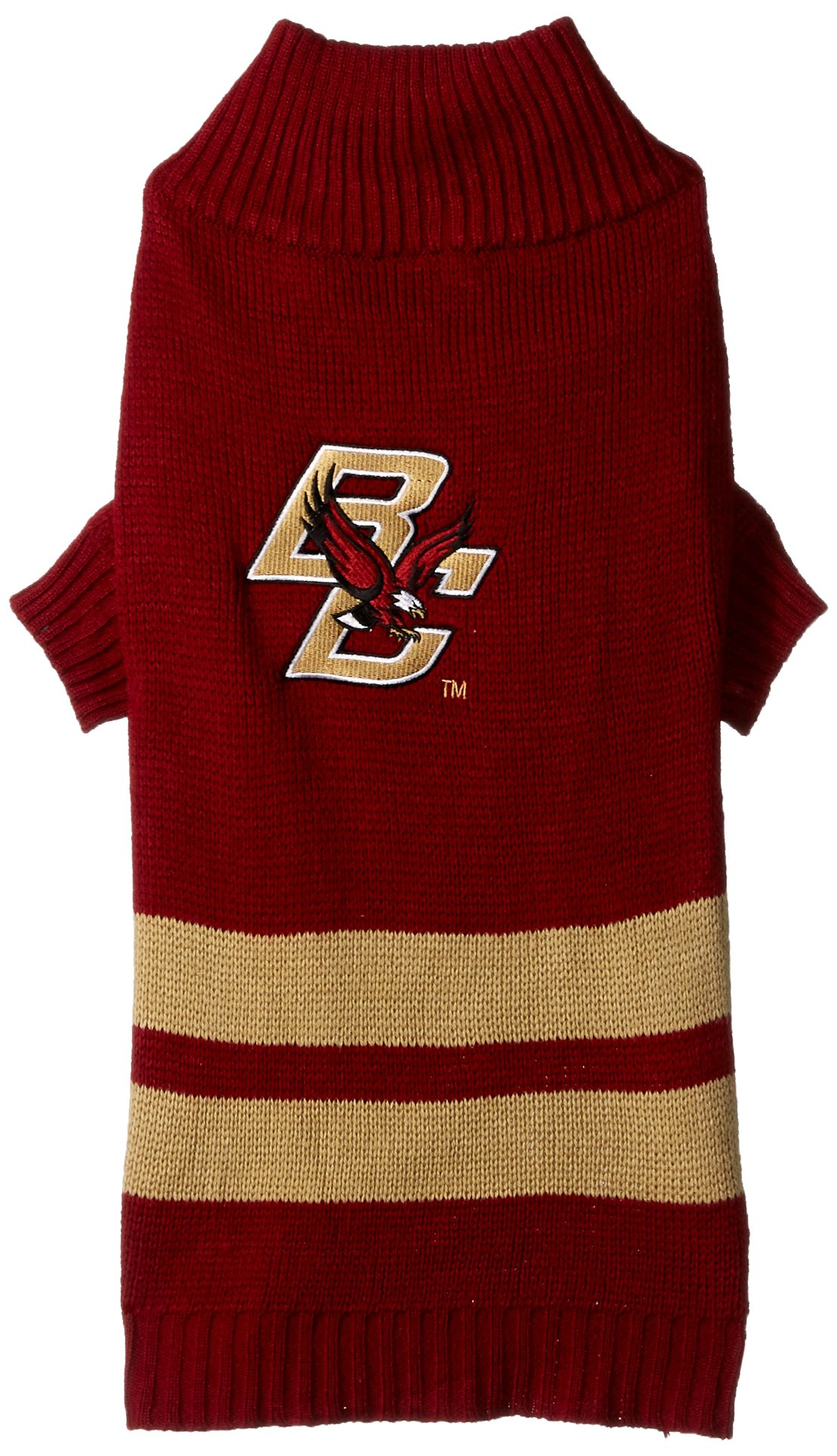Pets First Collegiate Boston College Eagles Pet Sweater, Large
