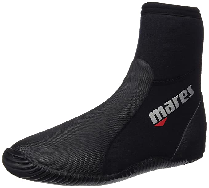 MARES Uomo Classic Dive Boot Nero Ng 4142 US 9