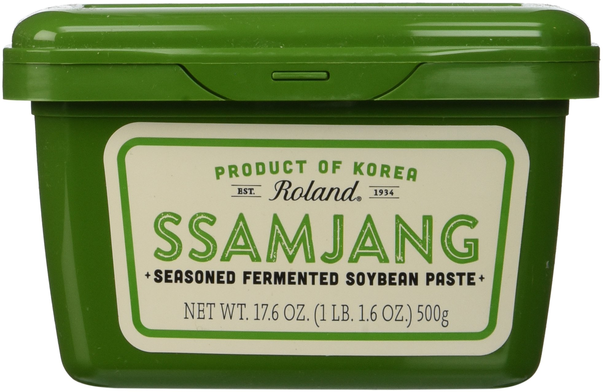 Roland Fermented Soybean Paste, Ssamjang, 17.6 Ounce (Pack of 12) by Roland