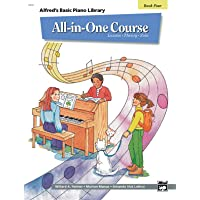 All-in-One Course for Children: Lesson, Theory, Solo, Book 4 (Alfred's Basic Piano...