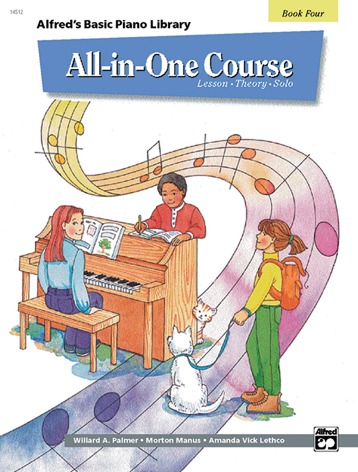 All In One Course For Children Lesson Theory Solo Book 4