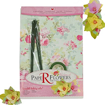 Buy Asian Hobby Crafts Diy Paper Flower Kit Online At Low Prices In