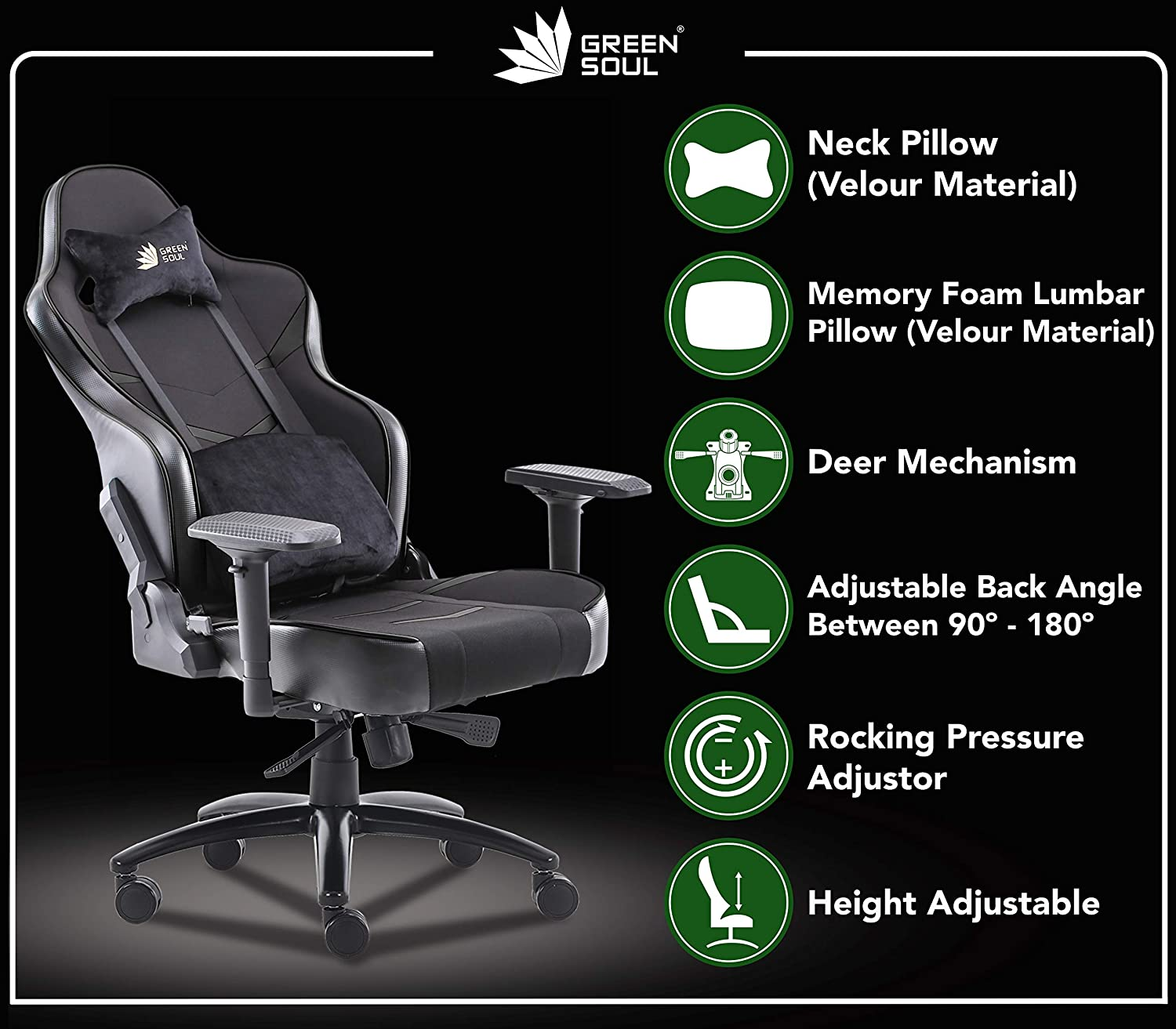 Green Soul Monster Ultimate Gaming Chair Review