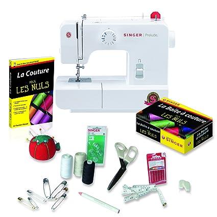 Singer 041415 Máquina de coser (85 W) y set de iniciación (con accesorios