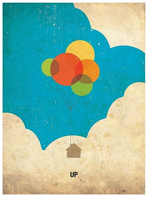 Amazon Com Ohmyposter Up Minimalist Poster Print Posters