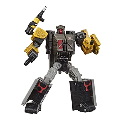 Transformers Toys Generations War for Cybertron: Earthrise Deluxe Wfc-E8 Ironworks Modulator Figure - Kids Ages 8 & Up, 5: Toys & Games