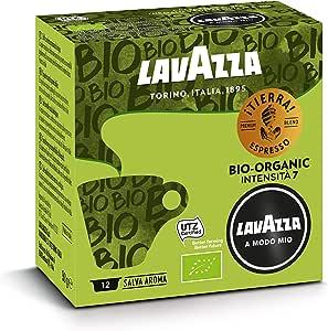Lavazza A Modo Mio Tierra Organic 12 Coffee Capsules