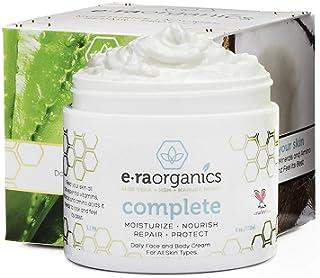 Face Moisturizer Cream Natural & Organic - Advanced 10-In-1 Non Greasy Daily Facial Cream with Aloe Vera