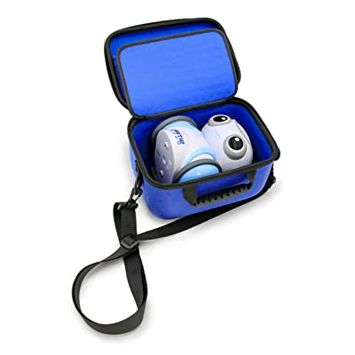 KidCase Blue Coding Toy Case Compatible with Education Insights Artie 3000 The Coding Robot and Stem Accessories, Includes Dragon Case and Shoulder Strap Only: Toys & Games
