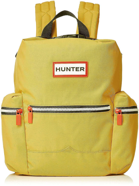 ハンター HUNTER バッグ ミニリュック UBB6018ACD サイドファスナーポケット オリジナルバックパック リュックサック 男女兼用 (3:UBB6018ACD-YELLOW-ミニ) [並行輸入品]   B07HDHPXM6