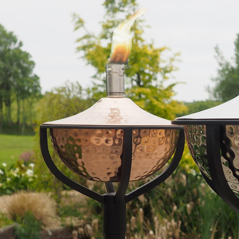 Classica Aged Copper Garden Oil Torch