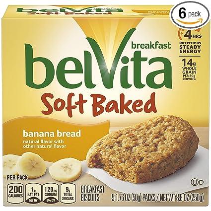 Bizcochos para el desayuno BelVita, cocidos al horno, pan de ...
